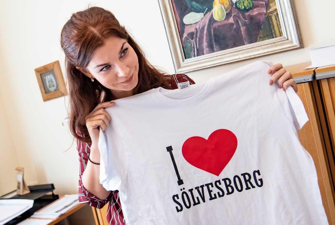 Kommunstyrelsens ordförande i Sölvesborg Louise Erixon (SD)