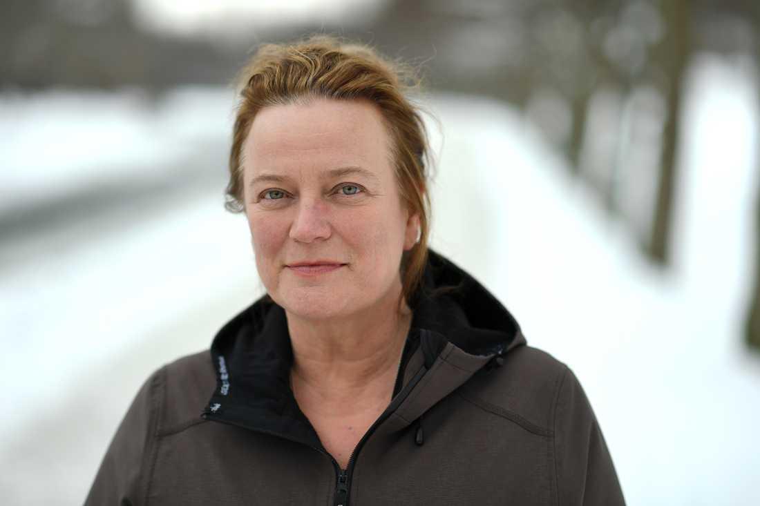 Aftonbladets chefredaktör Lena K Samuelsson