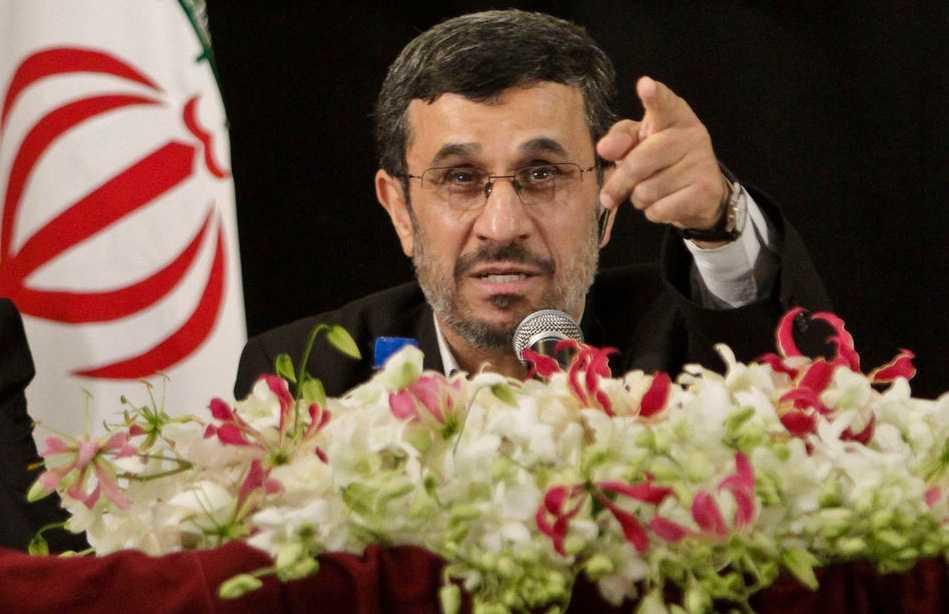 Irans president Mahmoud Ahmadinejad.