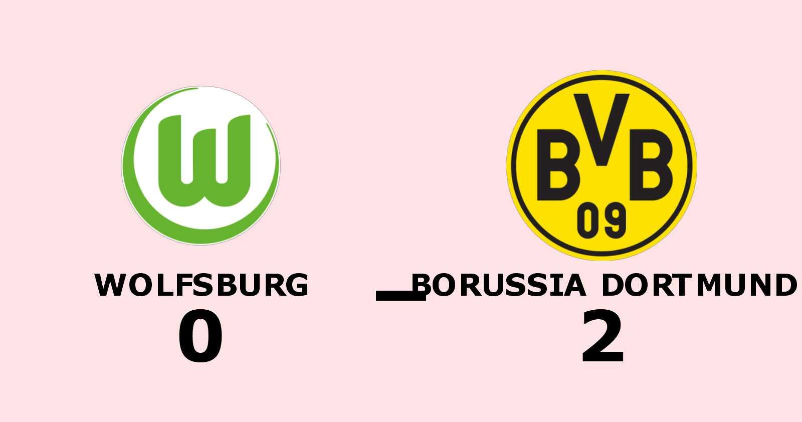 Tredje raka för Borussia Dortmund