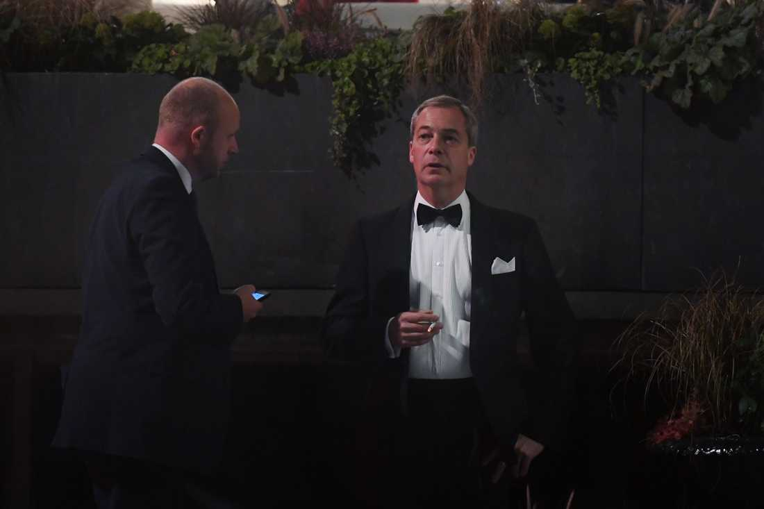 Nigel Farage på Grand Hotel.