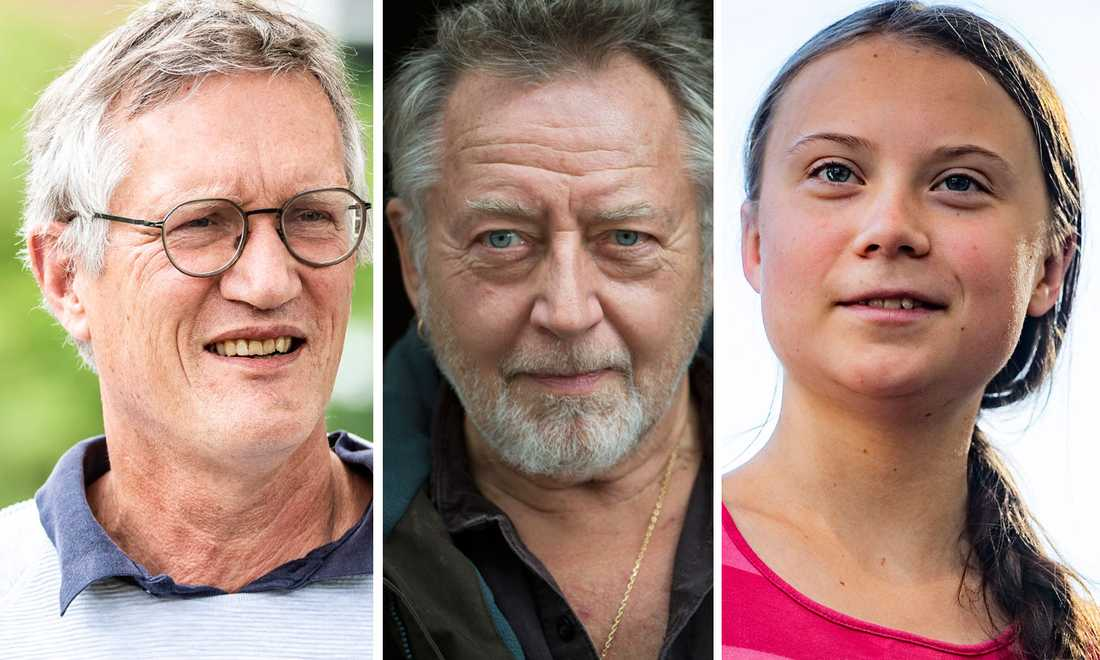 Anders Tegnell, Ulf Lundell och Greta Thunberg är tre av årets sommarpratare.