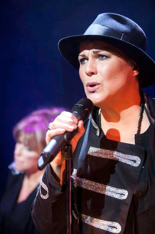 Showen var det sista Josefin Nilsson gjorde på scen.