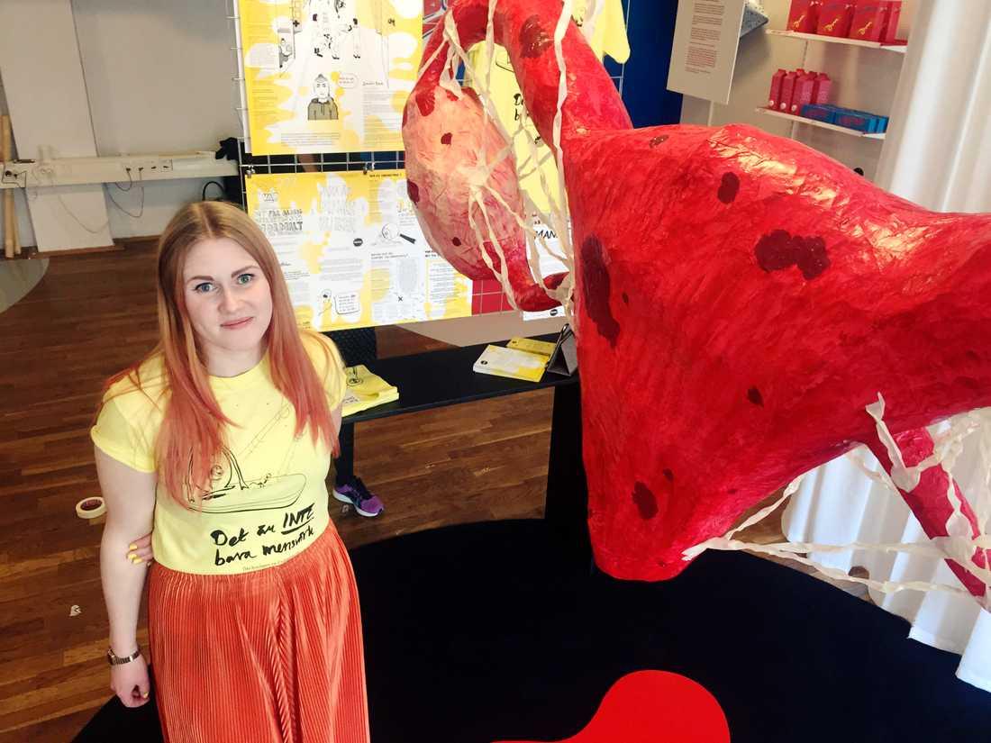 Maria Henriksson har kampanjat för bättre endometriosvård.