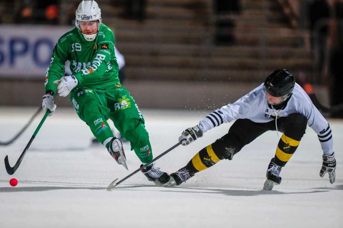 Hammarby och AIK spelade 2–2 i den första åttondelsfinalen på Zinkensdamm.