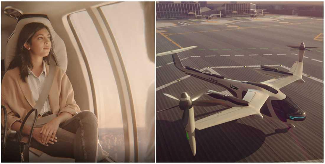 Om fem år kommer du kunna ta en flygtaxi och skippa långa bilköer och trafikstockningar.