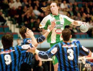Staffan Olsson gjorde åtta mål i segermatchen mot Djurgården.