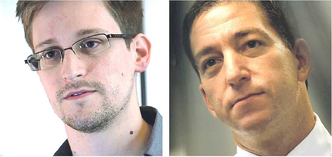 stoppas Den världsberömde visselblåsaren Edward Snowden och Guardian-reportern Glenn Greenwald ströks från gästlistan på Stockholm internet forum som inleds i dag. Foto: AP