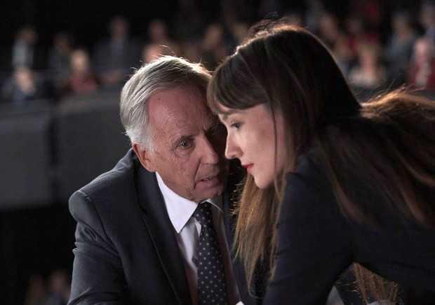 """Fabrice Luchini och Anaïs Demoustier i """"Alice och borgmästaren""""."""