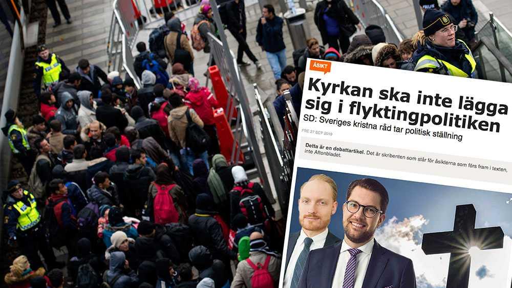 Sverige har förbundit sig att värna om rätten att söka asyl och att få sin sak prövad genom att Sverige anslutit sig till internationella konventioner och direktiv. Så länge vårt land står fast vid dessa åtaganden går det inte att bestämma ett högsta tak, skriver Sveriges kristna råd.