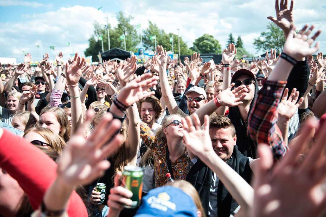 Roskildefestivalen 2017. Arkivbild.