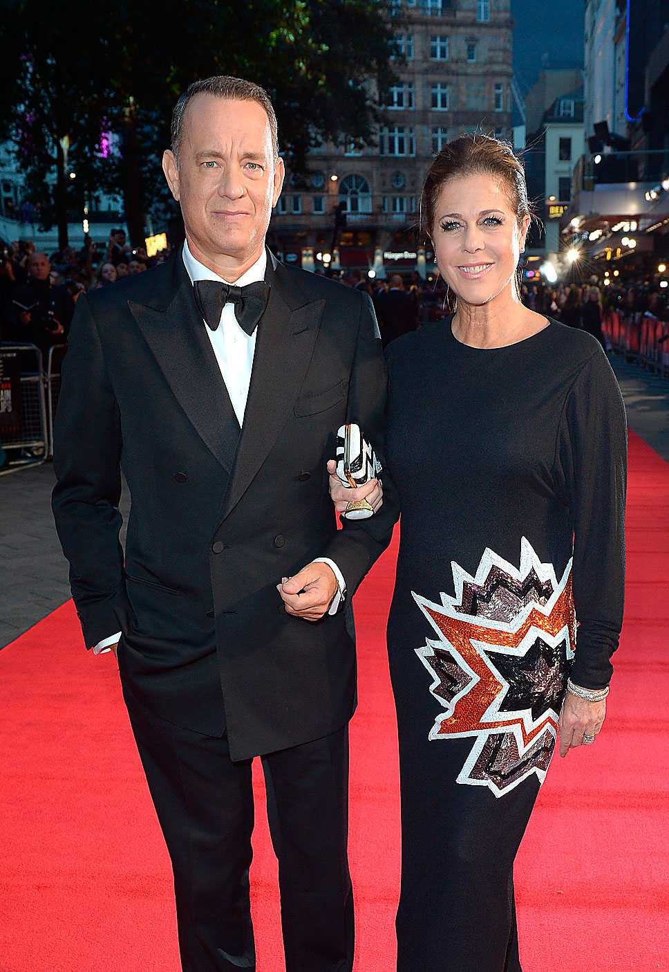 Tom Hanks & Rita Wilson.