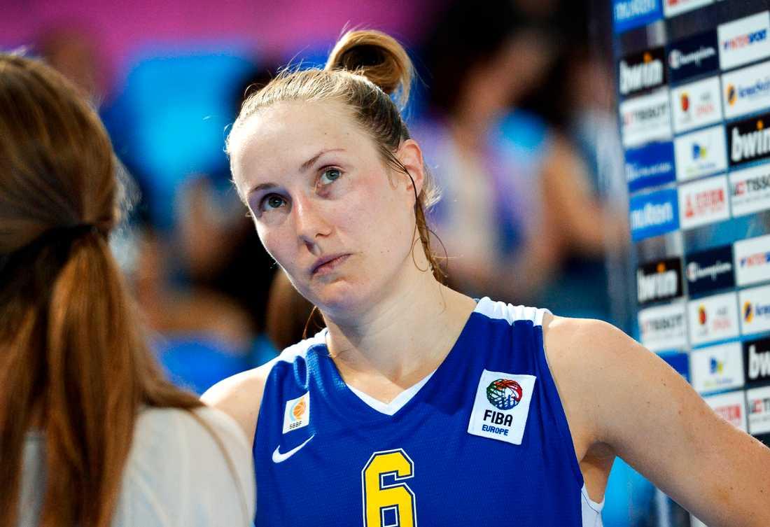 Vitryskorna koncentrerade sig på att ta bort stjärnan Frida Eldebrink ur matchen.