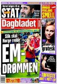 Norska tidningarna idag.