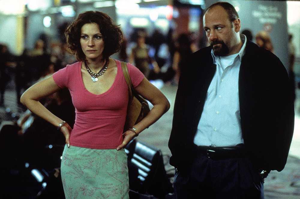 "Med Julia Roberts i ""The Mexican"" från 2001."