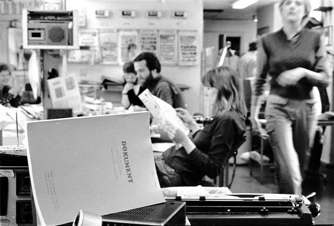 På 1970-talet samlade kvinnor på Aftonbladet ihop sina berättelser om sexism på jobbet i ett dokument.