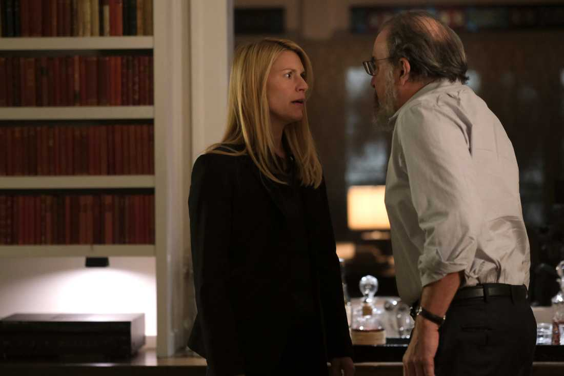 Carrie (Claire Danes) och Saul (Mandy Patinkin).