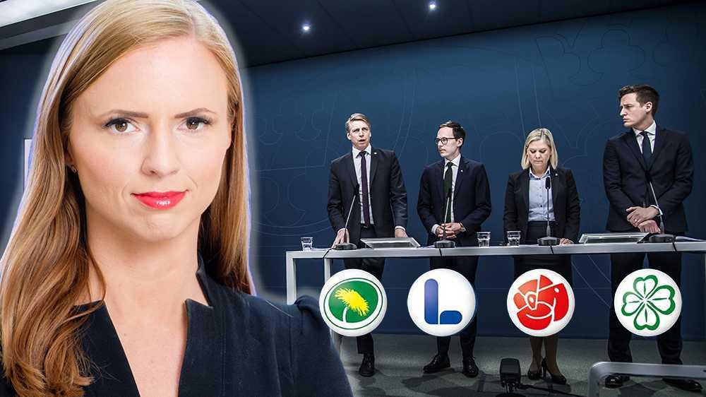 Partierna bakom Januariöverenskommelsen lever inte som de lär vad gäller logiken bakom att inte förhandla med Sverigedemokraterna, skriver Sara Skyttedal (KD).