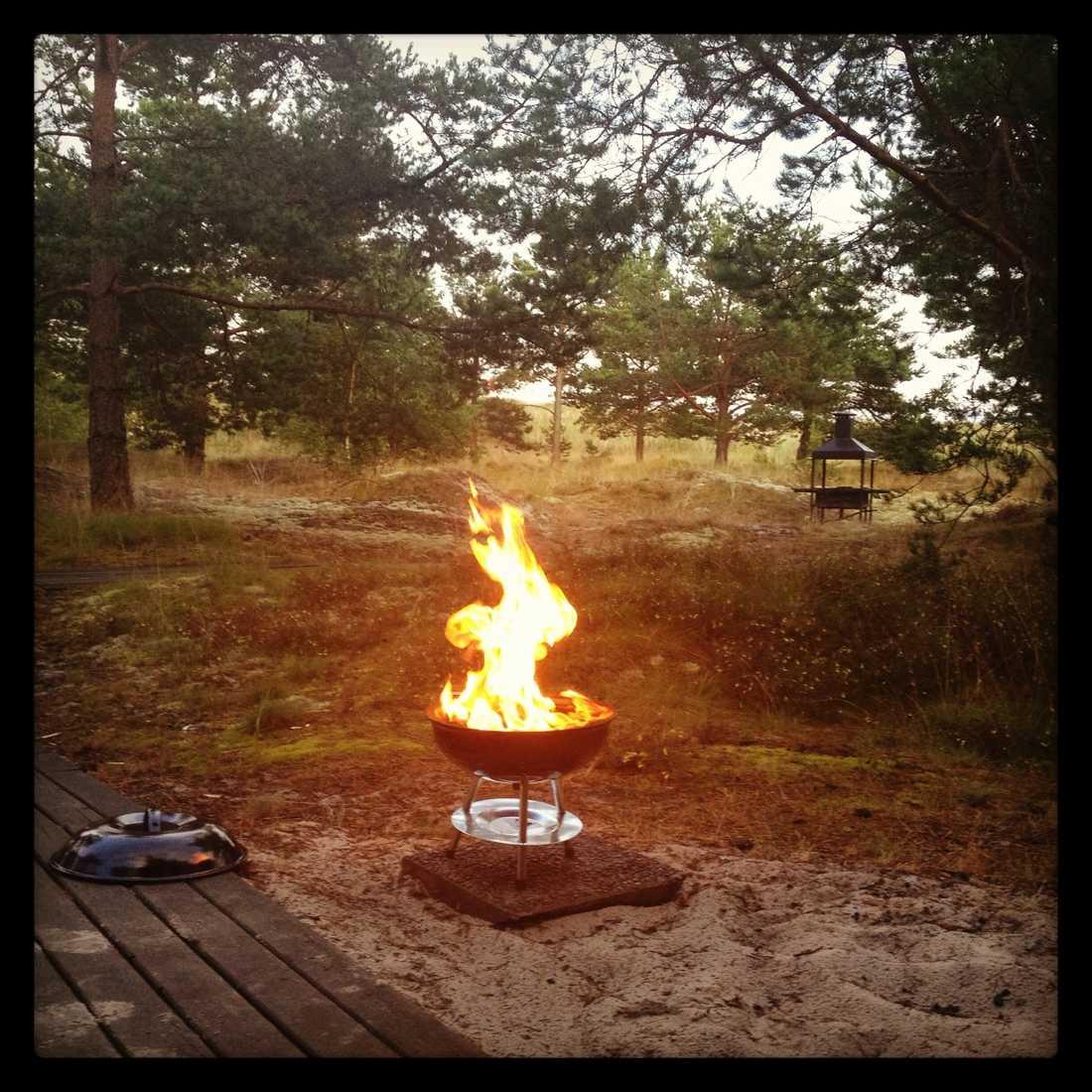 Grilldags på Böda Camping