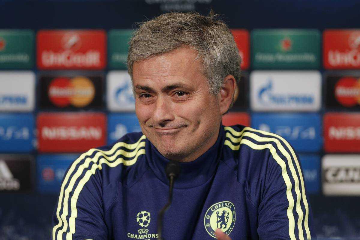 Mourinhos presskonferens var som vanligt en show.