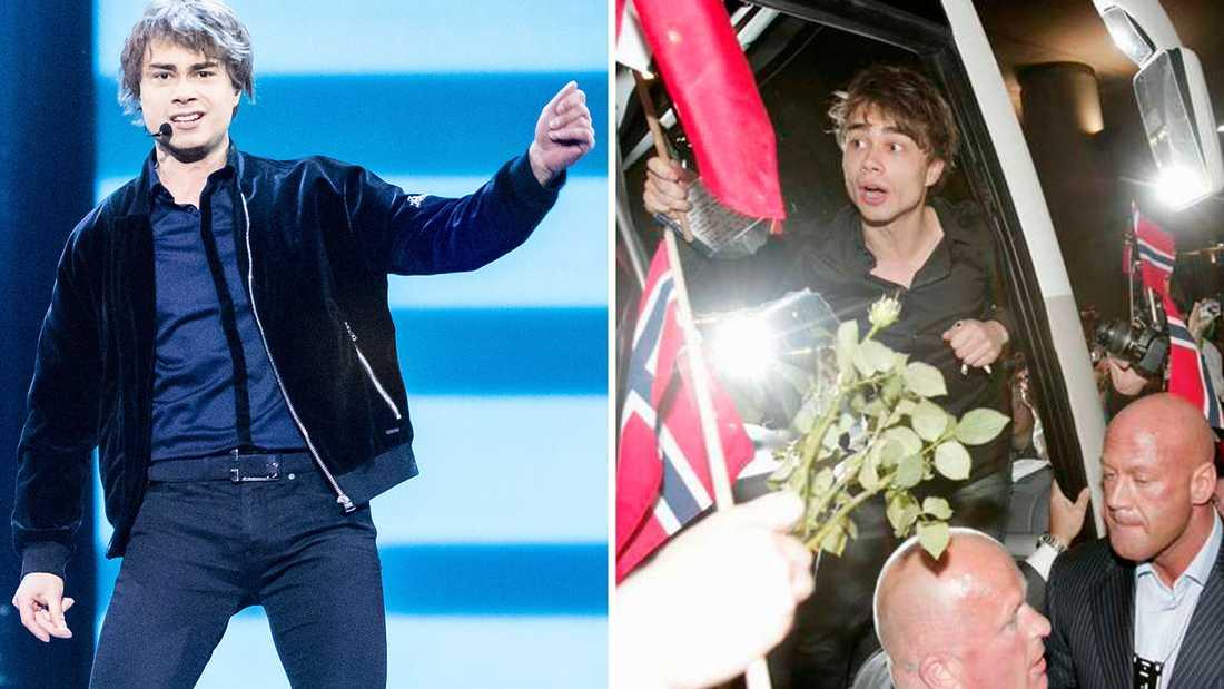 Alexander Rybak representerar Norge.