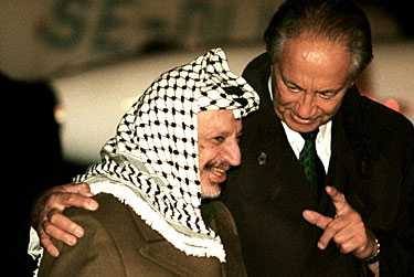 Image result for sten andersson+yassir arafat