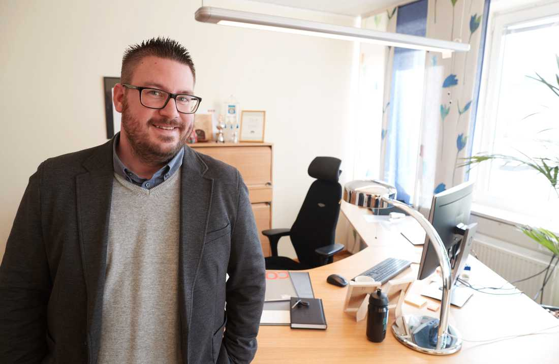 Eric Berntsson (SD) är ny kommunstyrelseordförande i Bromölla.