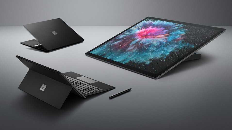Microsoft lanserar Surface Laptop 2, Surface Pro 6, Surface Studio 2 samt Surface Headphones.
