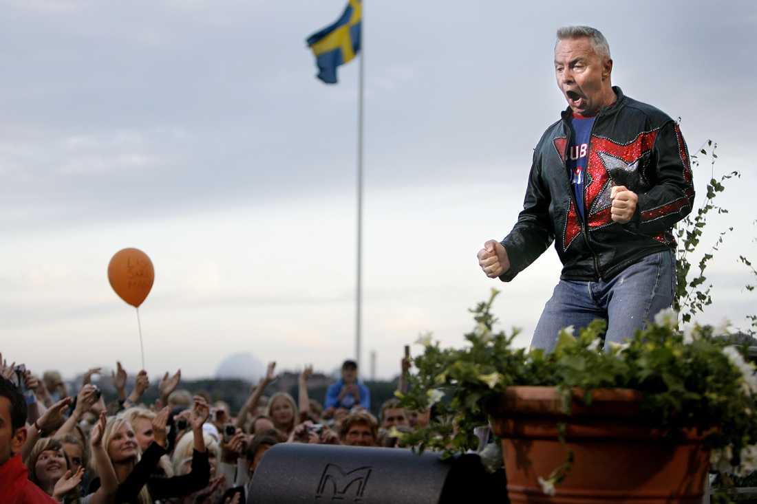 Jerry Williams på Allsång på Skansen 2007.