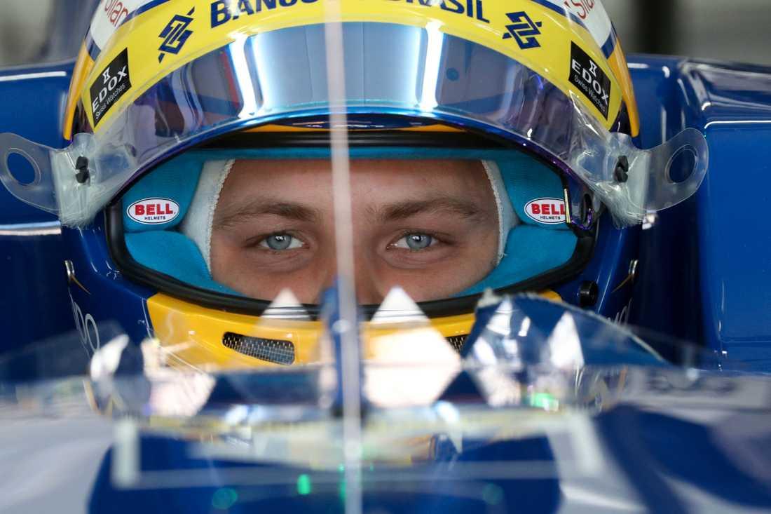 Fokuserad - snart startar F1 2017