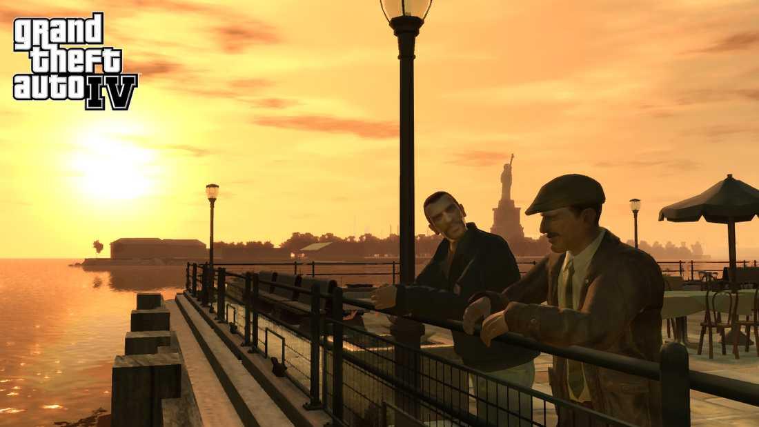 Grand Theft Auto 4.