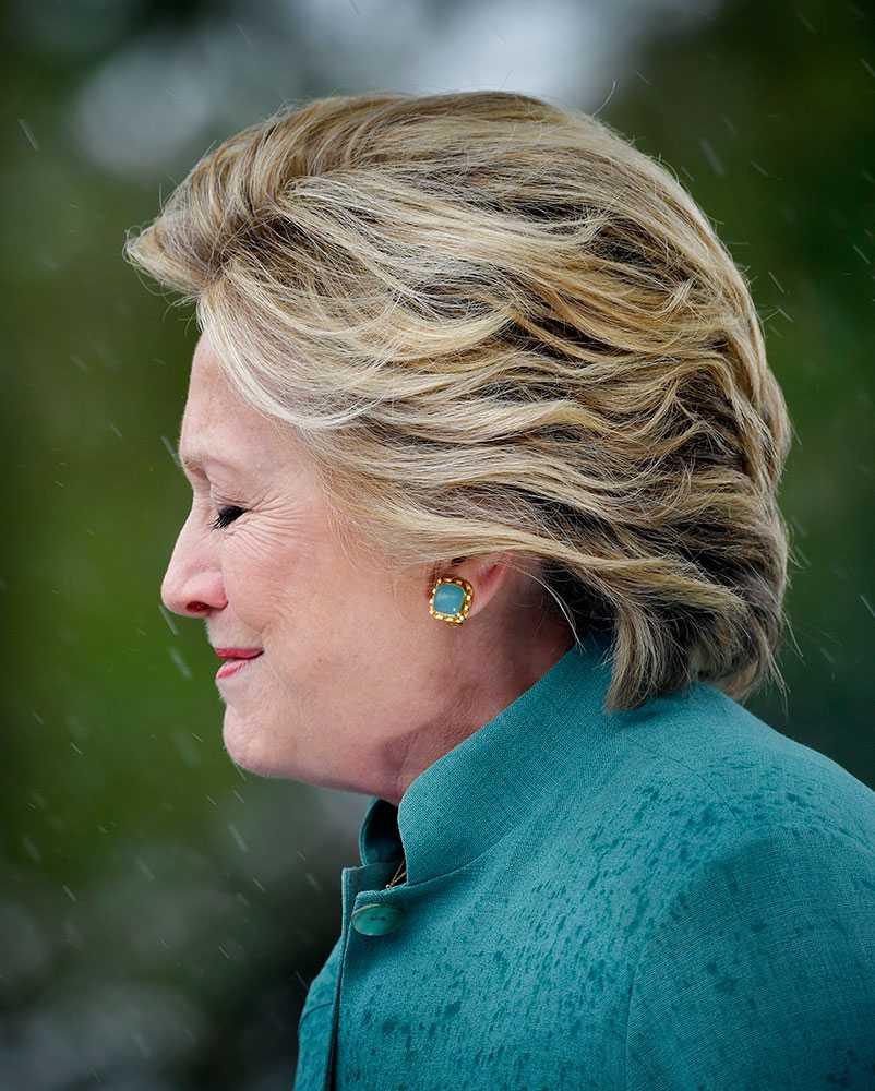 Hillary Clinton i Pembroke Pines, Florida.