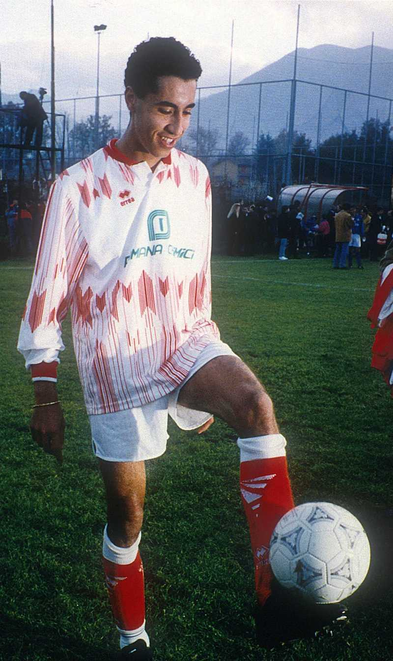 Gaddafis son Saadi är fotbollsspelare och ordförande för Libyens fotbollsförbund.