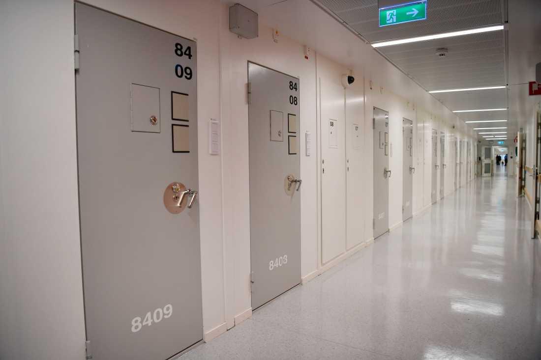 Stockholm's Kronoberg prison in December 2017.
