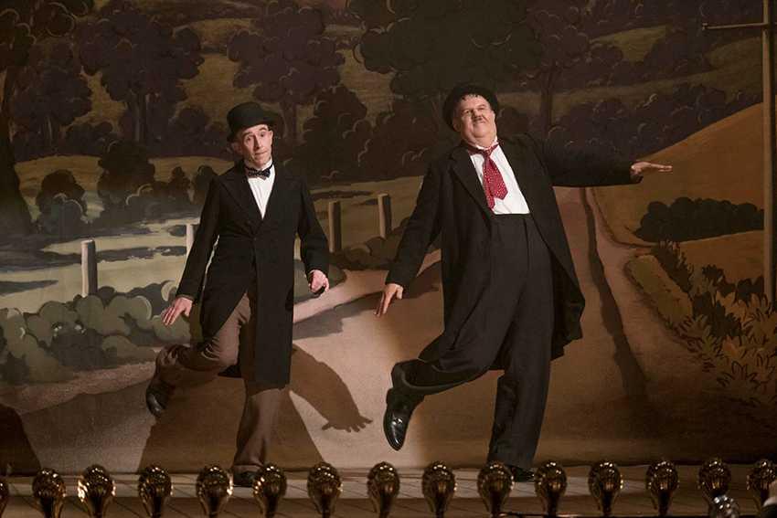 """Steve Coogan och John C Reilly i """"Helan & Halvan"""" som går upp på svenska biografer i dag."""