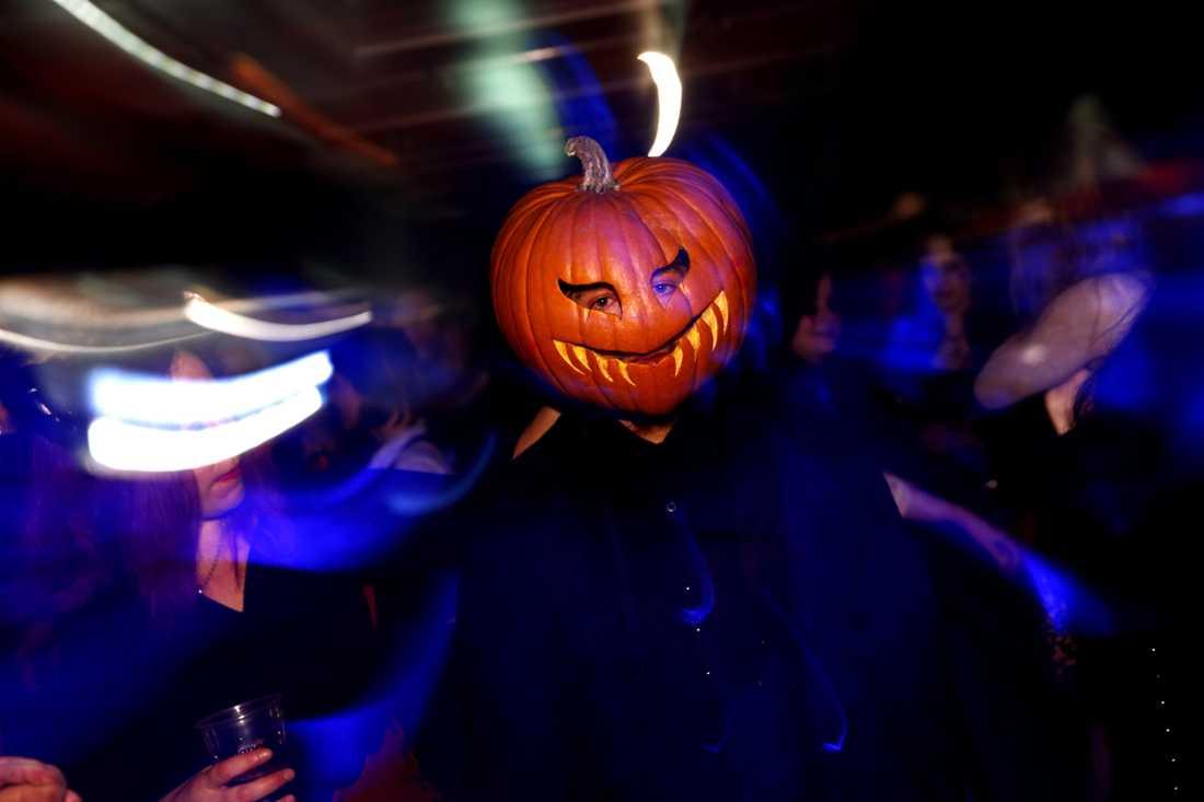 Halloweenfesten som Chalmers planerar möter kritik. Pumpan på bilden har inget med den festen att göra. Arkivbild.