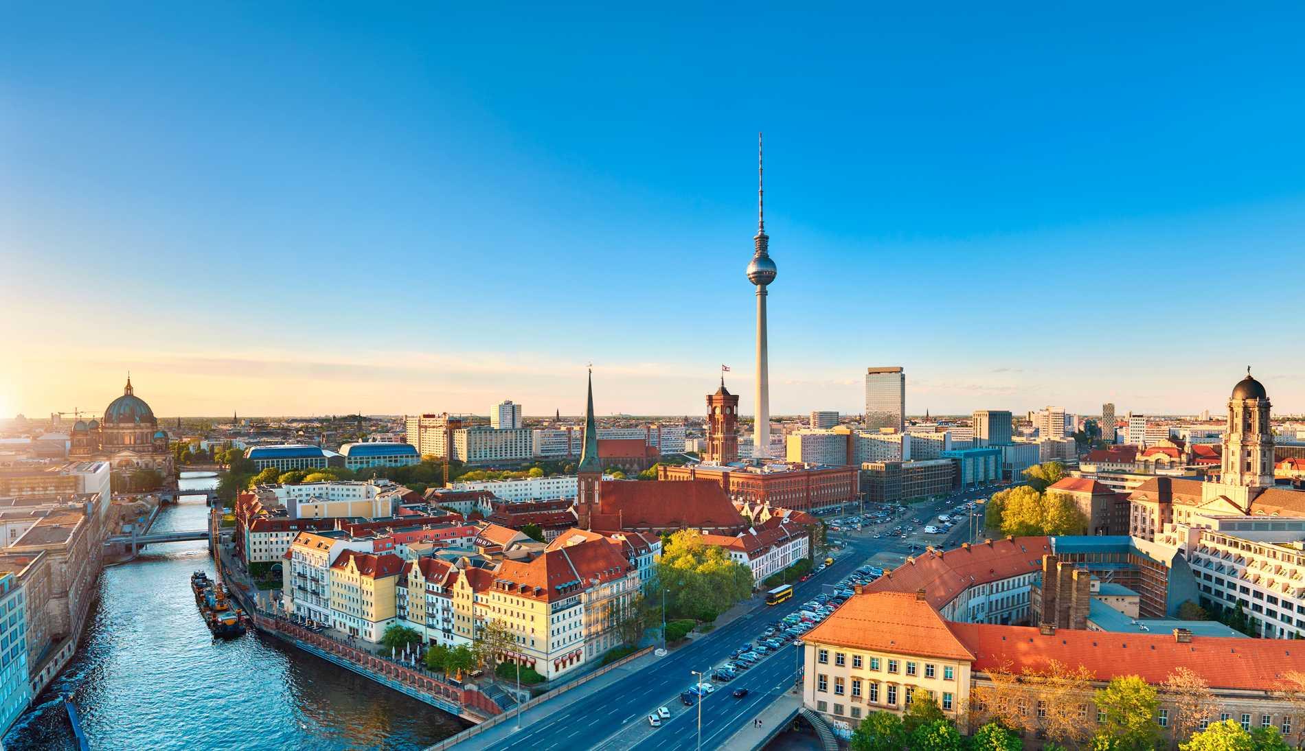 Mys runt i Berlin i vår.