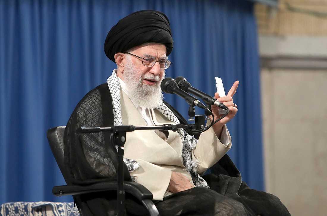 Ayatolla Ali Khamenei är Irans högste ledare.