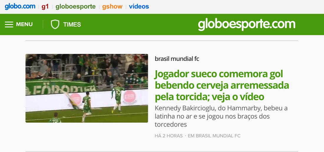 ...och i Brasilien...