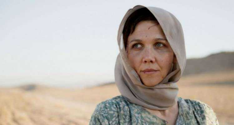 "Gyllenhaal i ""The honourable woman""."
