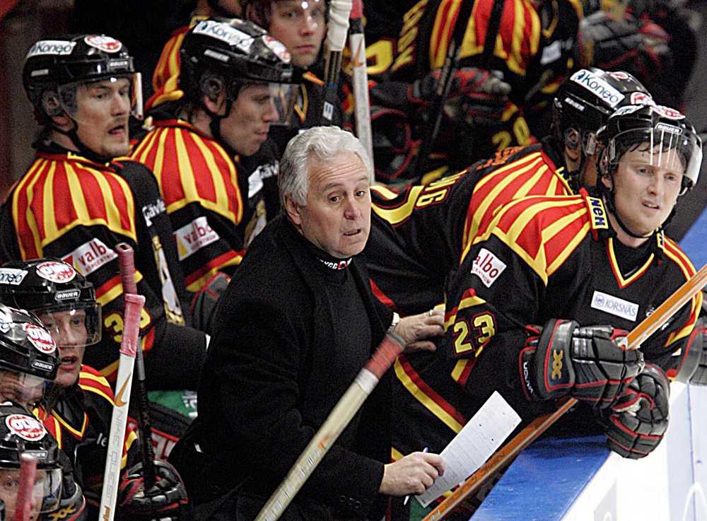 Fleming i Brynäs bås 2005.