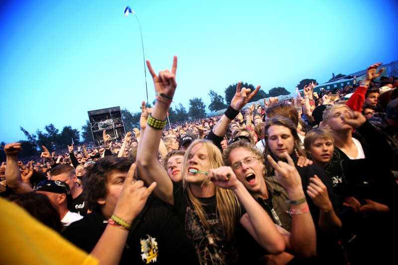 Sweden Rock Festival är Sveriges största rockfestival - och en spelplats för upphovsrättsbrott, skriver dagens debattörer.