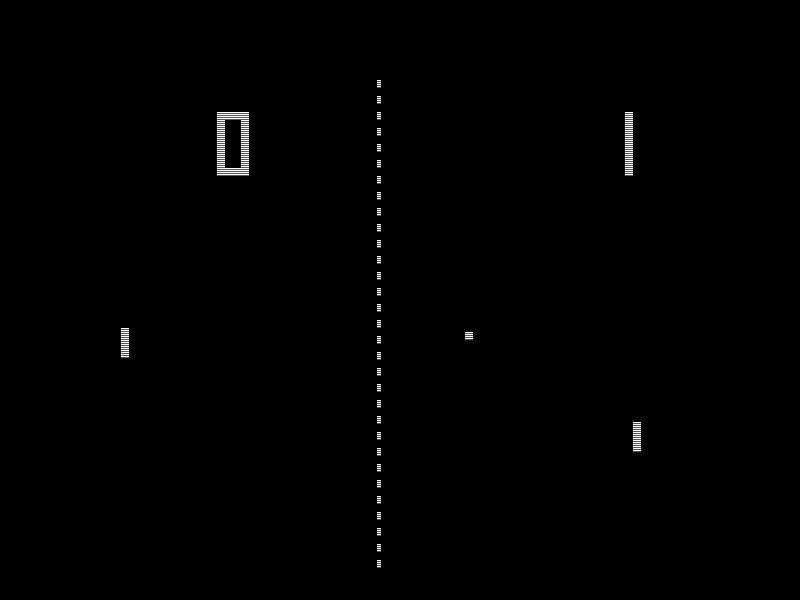 """""""Pong"""" från 1972 anses vara en de tändande gnistor som orsakade den första tv-spelsboomen."""