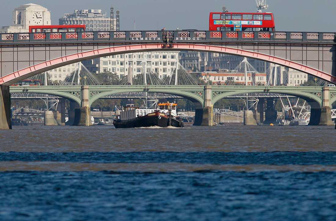 I London nära Themsen öppnar det första brittiska äldreboendet för hbtq-personer. Arkivbild.