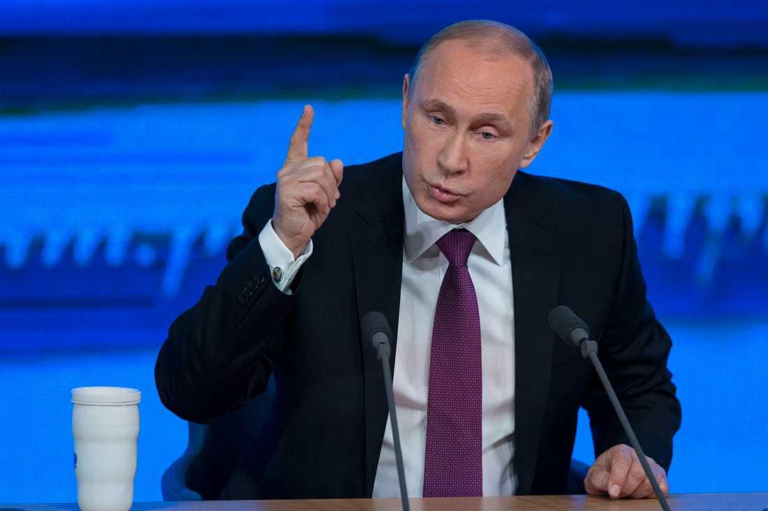 Forskare hävdar att Putin lider av Aspergers.