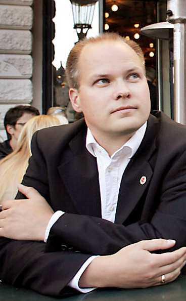 Folkhälsominister Morgan Johansson.