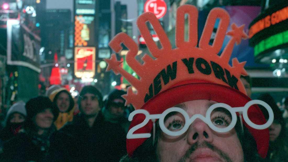 Så här såg det ut i New York vid förra millennieskiftet – fast då befann sig New York-bon Bjurman i Stockholm.