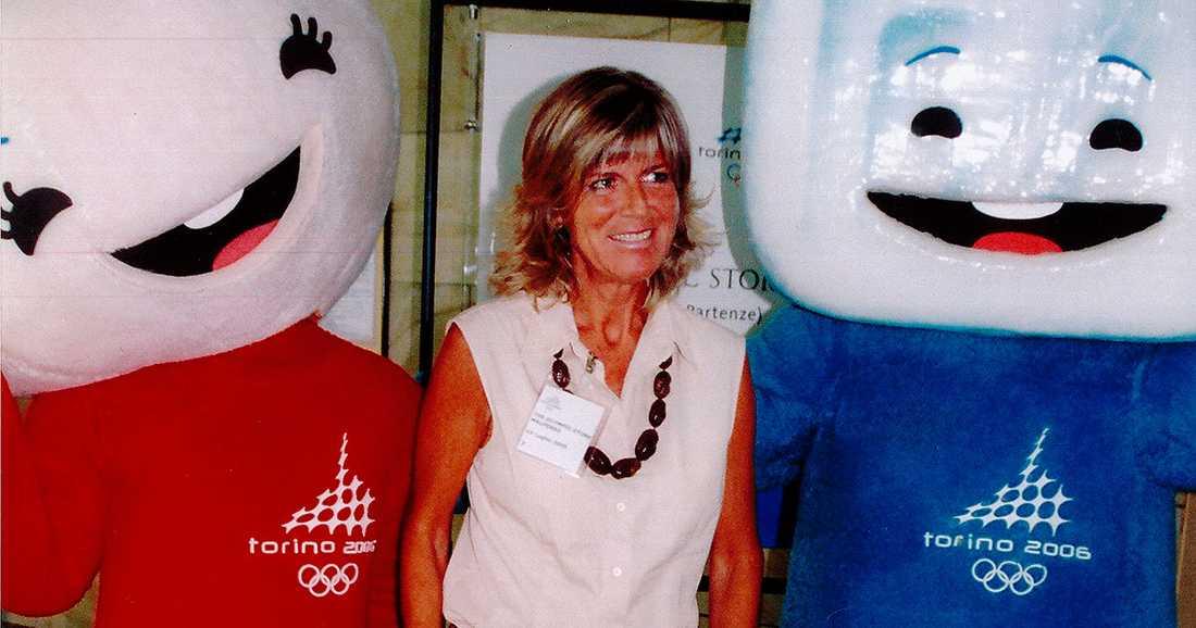 vinnaren  En av Evelina Christillins första bedrifter inom idrotten var att fixa vinter-OS till Turin 2006.
