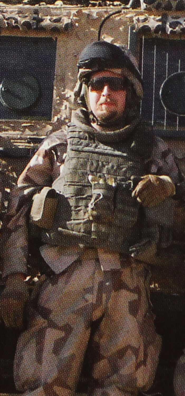 Jonas Runnemark, 30, var yrkesmilitär.