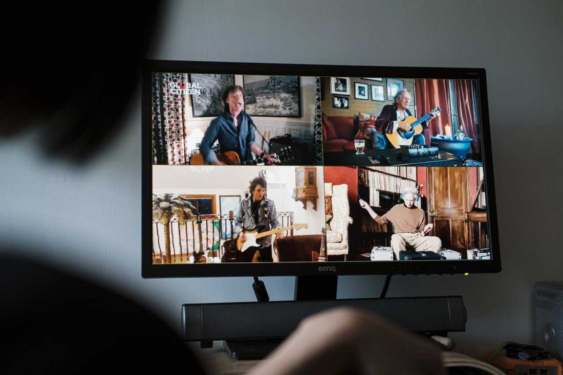 Rolling Stones under One World-galan.